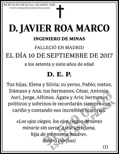 Javier Roa Marco